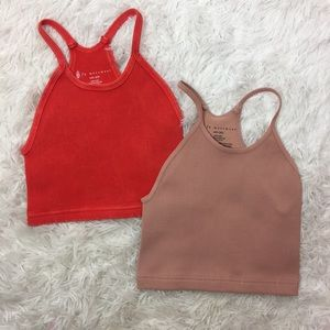 FP Movement Lot of 2 Happiness Run Tanks Size XS/S